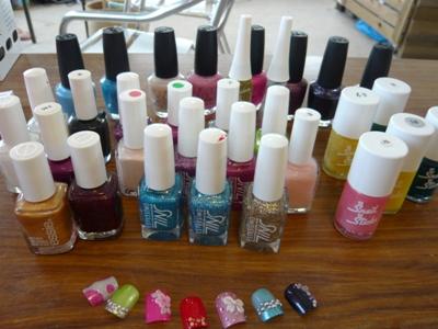 nail polish a lot