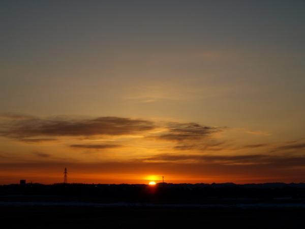 夕陽~~~~~