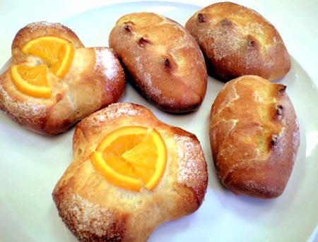 バタ-クッペ&オレンジパン