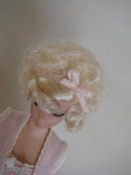 barbie FMC #4 lingerie hair