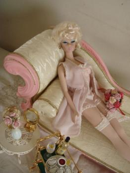 barbie FMC #4 lingerie on pulip couch2