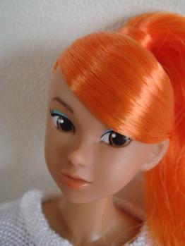 momoko summer orange face