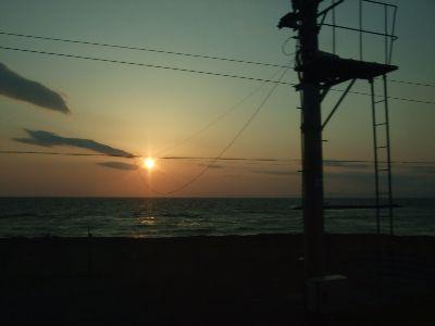 20080504夕日