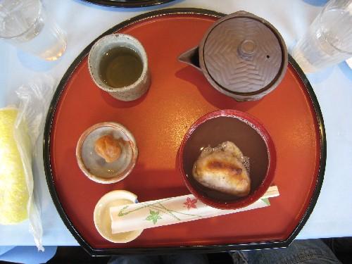 おはぎ&お寿司?