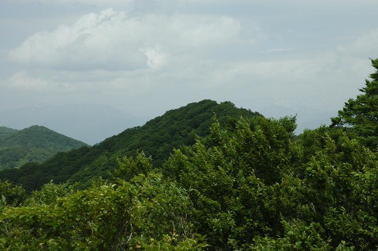 一の峰から五頭山