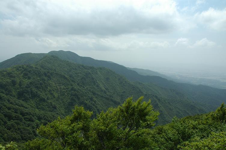 中の岳・菱が岳