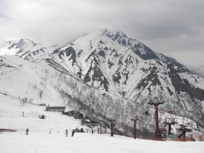 高倉山山頂からの谷川岳
