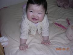 よい子は寝る時間の笑顔2