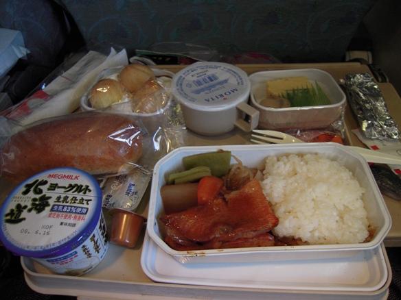 エア・インディアの機内食