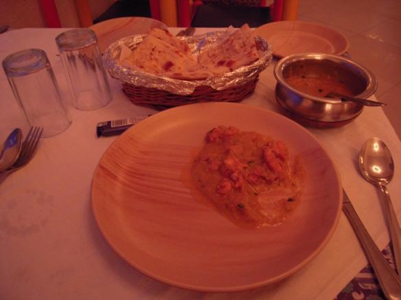 マヤ・ホテルのレストランの食事