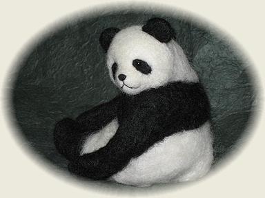 見返りパンダ