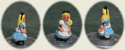 樹脂粘土☆不思議の国のアリス