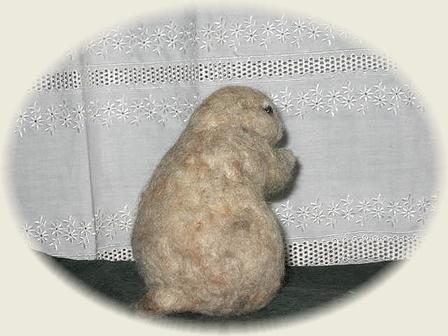 羊毛フェルト☆プレーリードッグ
