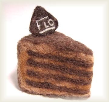 羊毛☆チョコケーキ