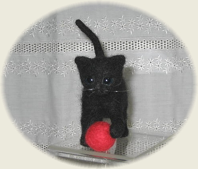 子猫のクロ