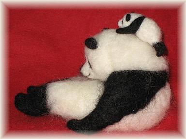 パンダの親子