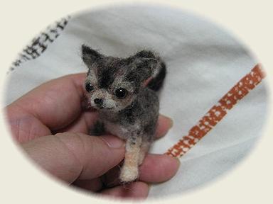 羊毛フェルト☆チワワの子犬