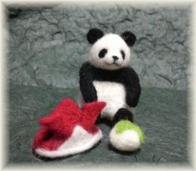 端午の節句用パンダ