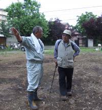 建設部長と畔上先生