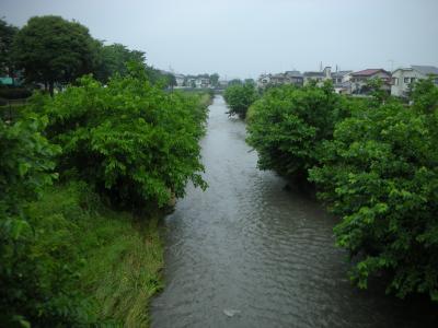 東村山市内の空堀川