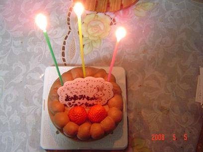 5月5日ケーキ