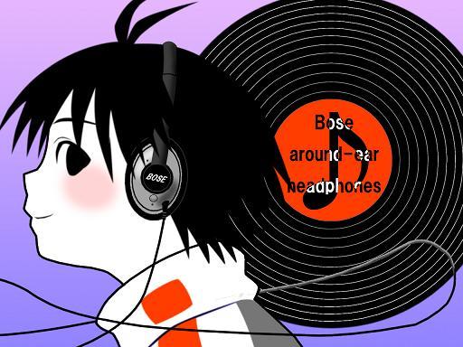 真(BOSEaround-earHeadphones)