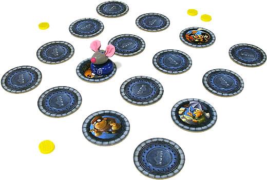 ふくろのネズミ:遊戯中