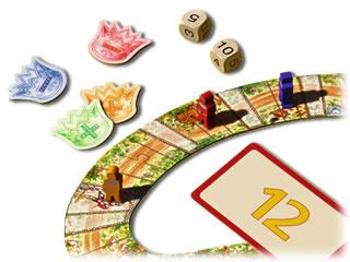 騎士の算術レース:数の予想で進む