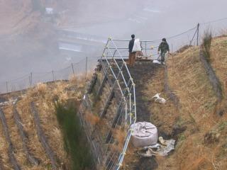 足尾銅山で種まき
