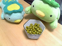 グリーンピースの甘煮