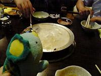 もつ鍋のシメ
