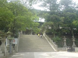 金毘羅参拝-asahi