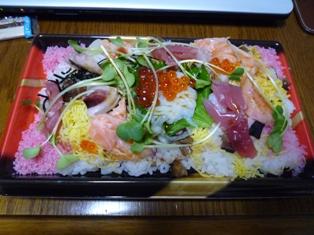 080325 お惣菜のちらし寿司