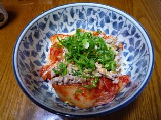 080327 キムチ納豆丼