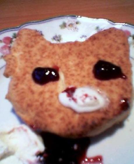 猫顔スコーン③