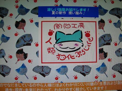 川猫トップ夏仕様