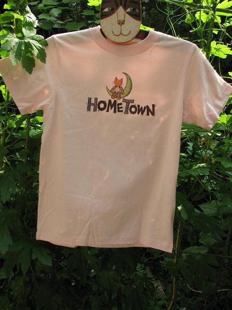 マイホームタウンTっシャツ