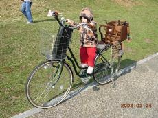 自転車練習②