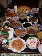 ナガノ家晩餐①