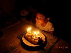 5歳のお誕生日②