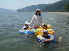 初泳ぎ(海)