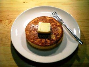 シンプルなホットケーキ001