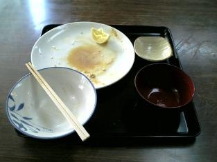 山田ホームレストラン本日の定食Aカキフライ004