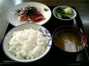 山田ホームレストラン本日の定食C山カケ003