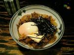 上野にある東京牛丼にて牛力丼白008