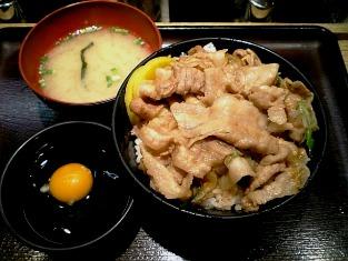 伝説のすた丼屋ミニすた丼004