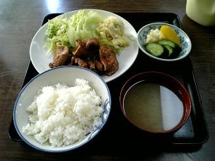 山田ホームレストラン本日の定食C豚焼肉002