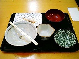 上野昭和通り食堂カレイから揚げおろし011