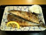 上野昭和通り食堂秋刀魚の塩焼他004