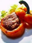 パプリカの肉詰め001